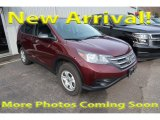 2014 Basque Red Pearl II Honda CR-V LX AWD #123898776