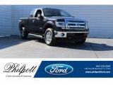 2014 Tuxedo Black Ford F150 XLT SuperCab 4x4 #123898733