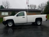 2008 Summit White Chevrolet Silverado 1500 Work Truck Regular Cab #123898823