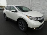 2018 White Diamond Pearl Honda CR-V EX AWD #123898619