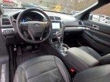 2017 Ford Explorer Limited 4WD Ebony Black Interior