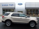 2017 White Gold Ford Explorer Limited 4WD #123924236
