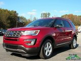 2017 Ruby Red Ford Explorer XLT 4WD #123924014