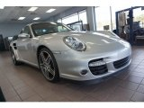 2007 Arctic Silver Metallic Porsche 911 Turbo Coupe #123948174