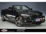 2018 Jet Black BMW 2 Series 230i Convertible #123948201