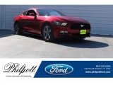 2016 Ruby Red Metallic Ford Mustang V6 Coupe #123948191