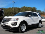 2017 Oxford White Ford Explorer FWD #123947898