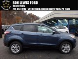 2018 Blue Metallic Ford Escape SEL 4WD #123948091