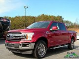 2018 Ruby Red Ford F150 Lariat SuperCrew 4x4 #123947897