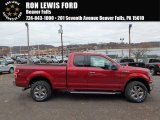 2018 Ruby Red Ford F150 XLT SuperCab 4x4 #123948089