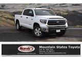 2018 Super White Toyota Tundra SR5 CrewMax 4x4 #123947949