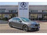 2018 Modern Steel Metallic Acura TLX V6 A-Spec Sedan #123948020