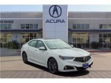 2018 Bellanova White Pearl Acura TLX V6 A-Spec Sedan #123948018