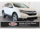 2018 White Diamond Pearl Honda CR-V EX AWD #123948008