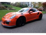 2016 Porsche 911 Gulf Orange, Paint to Sample