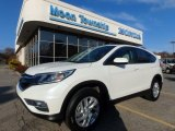 2015 White Diamond Pearl Honda CR-V EX #123988319