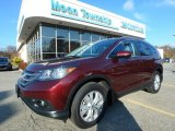 2014 Basque Red Pearl II Honda CR-V EX-L AWD #123988317