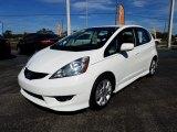 2011 Taffeta White Honda Fit Sport #123988446