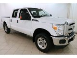2015 Oxford White Ford F250 Super Duty XLT Crew Cab 4x4 #124004654
