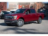 2018 Ruby Red Ford F150 XLT SuperCrew 4x4 #124004506