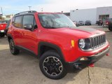 2017 Colorado Red Jeep Renegade Trailhawk 4x4 #124004363