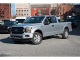 2018 Ingot Silver Ford F150 XL SuperCab 4x4 #124004505