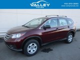 2014 Basque Red Pearl II Honda CR-V LX AWD #124004359