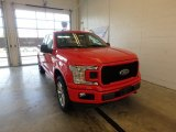 2018 Race Red Ford F150 STX SuperCab 4x4 #124004492