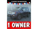 2017 Jetset Blue Jeep Renegade Limited 4x4 #124004620