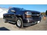 2016 Slate Grey Metallic Chevrolet Silverado 1500 LT Double Cab 4x4 #124004431