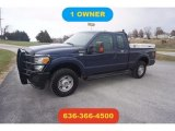 2012 Dark Blue Pearl Metallic Ford F250 Super Duty XL SuperCab 4x4 #124004672