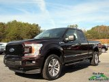 2018 Magma Red Ford F150 XL SuperCab 4x4 #124004332