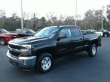 2018 Black Chevrolet Silverado 1500 LT Double Cab #124026302