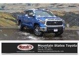 2018 Blazing Blue Pearl Toyota Tundra SR5 CrewMax 4x4 #124026104