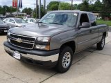 2006 Graystone Metallic Chevrolet Silverado 1500 LS Extended Cab 4x4 #12346871