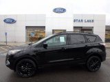 2018 Shadow Black Ford Escape SE 4WD #124026331