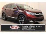2018 Basque Red Pearl II Honda CR-V Touring #124045051