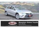 2015 Celestial Silver Metallic Toyota Camry LE #124045043