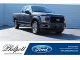 2018 Magnetic Ford F150 STX SuperCab #124051383
