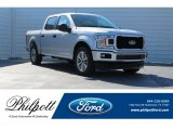 2018 Ingot Silver Ford F150 STX SuperCrew #124051382