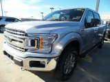 2018 Ingot Silver Ford F150 XLT SuperCrew 4x4 #124051441
