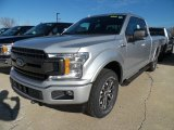 2018 Ingot Silver Ford F150 XL SuperCab 4x4 #124051438
