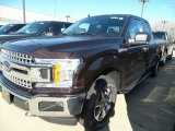 2018 Magma Red Ford F150 XLT SuperCab 4x4 #124051430