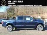 2018 Blue Jeans Ford F150 XLT SuperCrew 4x4 #124051341