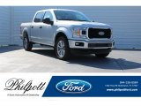 2018 Ingot Silver Ford F150 XL SuperCrew 4x4 #124051391