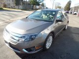 2011 Sterling Grey Metallic Ford Fusion Hybrid #124051333