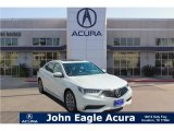 2018 Bellanova White Pearl Acura TLX Sedan #124051306