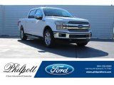 2018 White Platinum Ford F150 Lariat SuperCrew 4x4 #124051384
