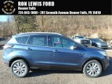 2018 Blue Metallic Ford Escape Titanium 4WD #124065912