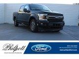 2018 Shadow Black Ford F150 XLT SuperCrew #124065960
